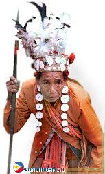 Местный житель в национальном костюме, Филиппины