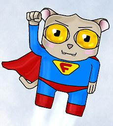 долгопят супермен