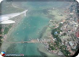 Город Тагбиларан и пролив между Бохолом и Панглао