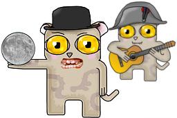 Долгопяты - Spongemonkeys